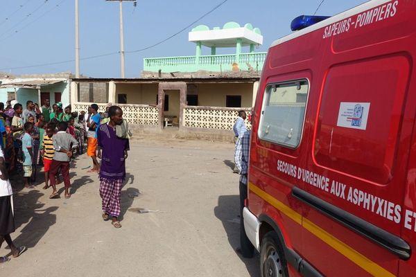 Archives - l'ONG Pompiers de l'urgence internationale s'était rendue à Djibouti il y a deux ans
