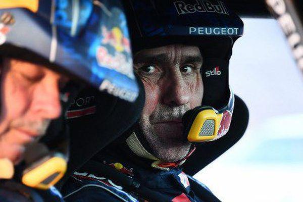 Stéphane Peterhansel  sur les pistes du Dakar 2018
