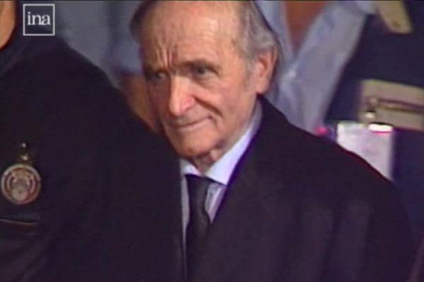 """Klaus Barbie, surnommé  """"le boucher de Lyon"""" reconnu coupable de  crimes contre l'Humanité en 1987, il y a tout juste 30 ans."""