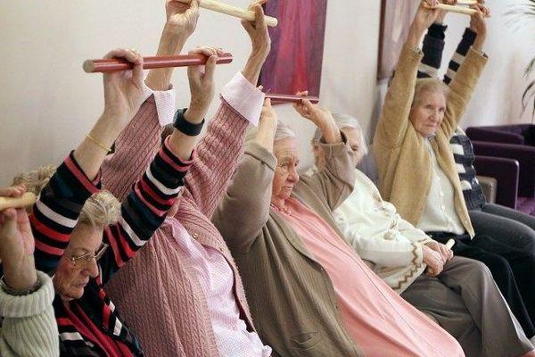 Personnes âgées en maison de retraite (illustration)
