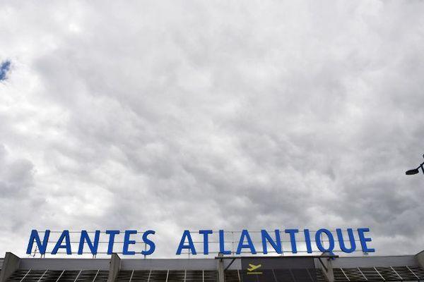 L'actuel aéroport de Nantes-Atlantique, à Bouguenais