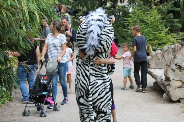 Pour la 15ème année consécutive, le zoo d'Amiens participe à l'opération internationale «Dreamnight at the zoo», le vendredi 7 juin 2019.