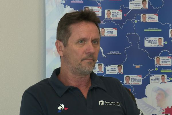Frédéric Grappe travaille pour Groupama-FDJ depuis 2000.