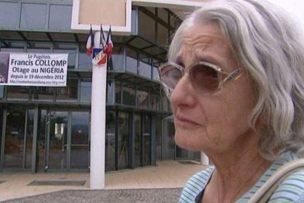 Georgette Collomp attend avec impatience la libération de son frère