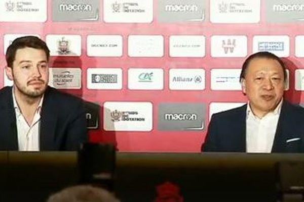 Gauthier Ganaye et Claude Li ont été nommés président et directeur général de l'OGC Nice