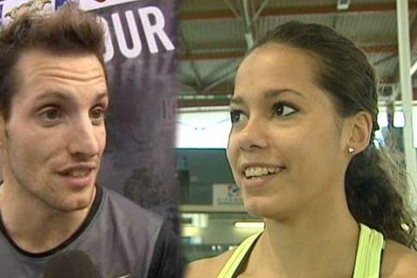 Les deux perchistes clermontois, Renaud Lavillenie et Angelica Bengtsson ont tous les deux remporté le concours d'Aulnay-sous-Bois dans leurs catégories respectives.