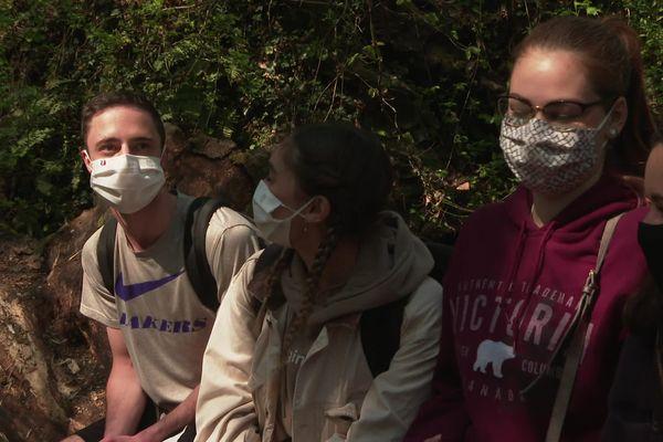 Les étudiants angevins relèvent le défi marche de l'université avec l'appli kiplin