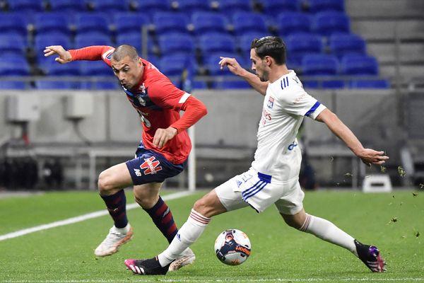 Les Gones ont cédé face aux Lillois lors de la 34é journée de Ligue 1.
