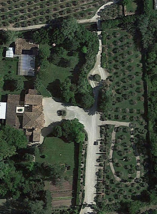 La propriété de Charles Aznavour à Mouriès.