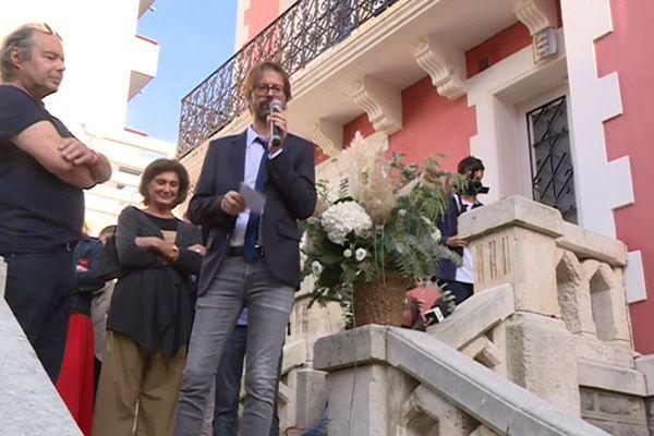 """Alexandre Labruffe obtient le prix Maison rouge, """"G7 Littéraire"""""""