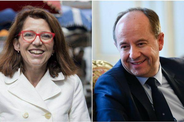 Annaïg Le Meur (La République en Marche) et Jean-Jacques Urvoas (PS) sont les candidats au deuxième tour, pour Quimper 1ère circonscription du Finistère