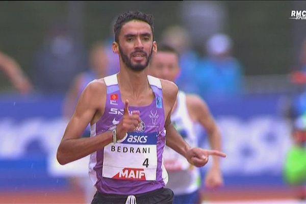 Djilali Bedrani réalise l'une des performances de ce championnat de France d'athlétisme