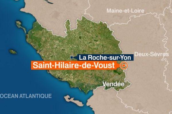 Un face à face entre deux voitures, à Saint-Hilaire-de-Voust, se solde tragiquement par la mort de deux personnes, et par une personne grièvement blessée ayant eu la main arrachée.