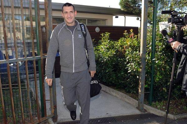 Montpellier : Dragan Gajic à sa sortie de la rencontre avec les dirigeants du MAHB - 6 novembre 2012.