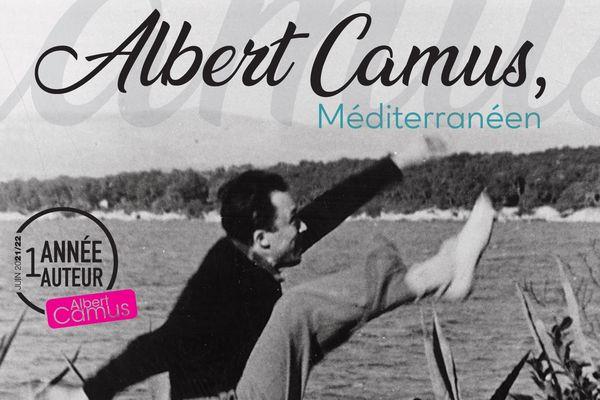 """Du 28 mai au 28 septembre, Roquebrune-sur-Argens accueille """"Albert Camus, Méditerranéen"""", manifestation bénéficiant du label régional """"Une année, un auteur""""."""
