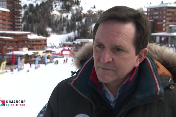 Jean-Luc Boch, maire de la Plagne (Savoie), dans l'émission Dimanche en Politique sur France 3 Alpes.