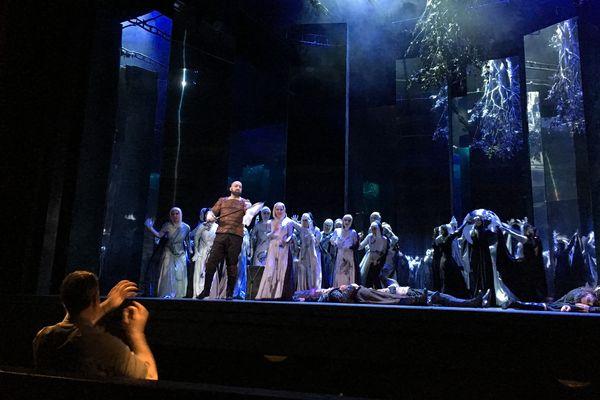 """Générale """"piano"""" de Macbeth à l'Opéra de Limoges"""