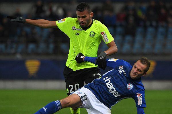 Les Dogues ont été éliminés en 16es de finale face à Strasbourg.