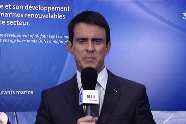 Manuel Valls, le Premier ministre était l'invité du 19/20 Bretagne ce jeudi 18/12/2014
