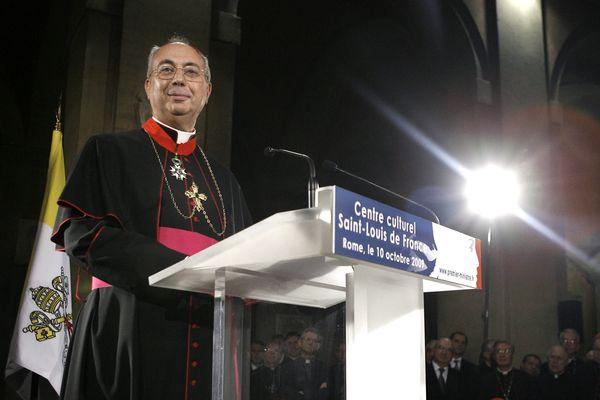 ILLUSTRATION - Monseigneur Dominique Mamberti a été nommé à la tête de la juridiction suprême du Saint-Siège.