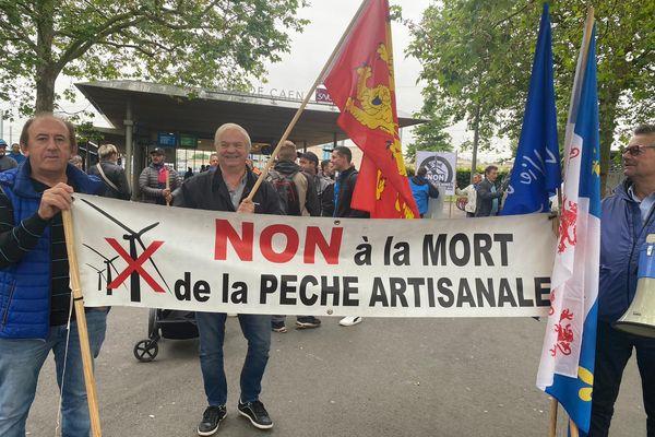 Les manifestants se sont retrouvés à la Gare SNCF de Caen à 10h, samedi 19 juin 2021.