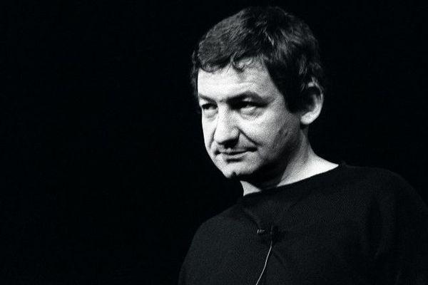 Pierre Desproges le 12 janvier 1984 au théâtre Fontaine à Paris