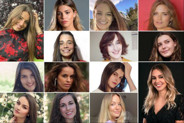 Voici les 14 candidates en lice pour le concours Miss Auvergne 2020.