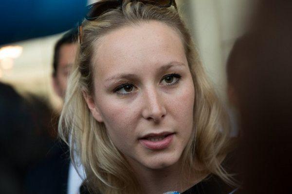 La députée frontiste du Vaucluse Marion Maréchal-Le Pen