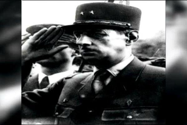Le Général de Gaulle à Nancy, après la libération de la ville.