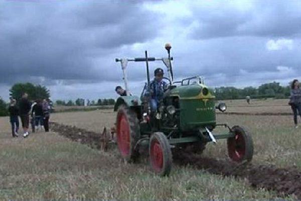La fête des vieux tracteurs.