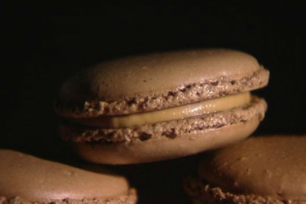 Macaron au foie gras ...