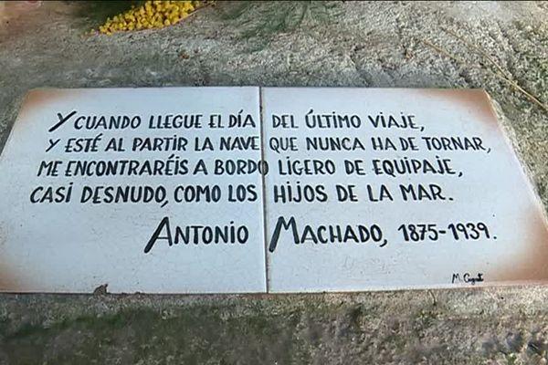 Hommage à Antonio Machado - janvier 2019