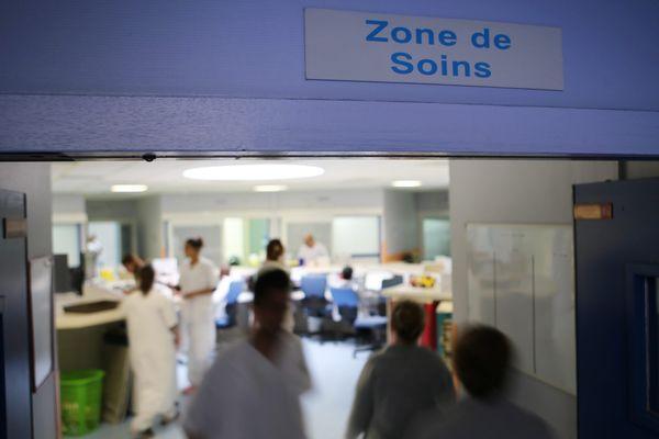 Les urgences du CH Dron à Tourcoing.