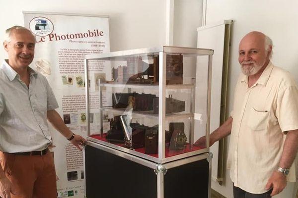 """Jean Distel et Patrick Salètes présentent leur première exposition """"Photomobile"""" sur les origines de la photographie"""