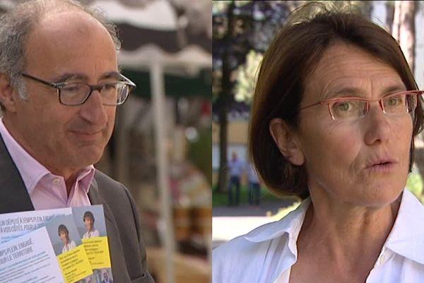Eric Halphen (LREM) et Laurence Dumont (PS) s'affronteront au second tour ce dimanche dans la seconde circonscription du Calvados