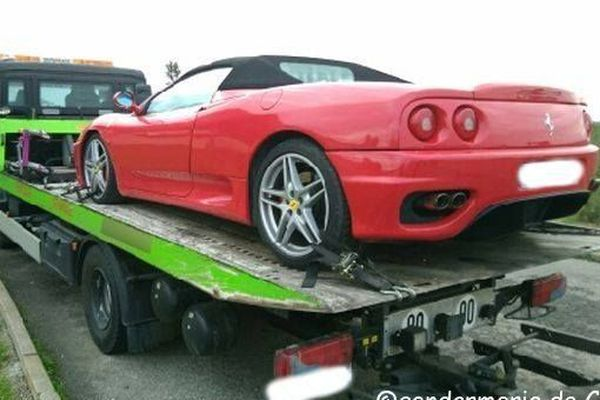 Un conducteur de Ferrari a été contrôlé à 155 km/h sur une route à 70 en Haute-Corse.