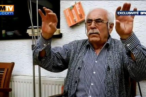 Werner C..., ancien Waffen-SS inculpé par le parquet de Dortmund pour le massacre d'Oradour s'est confié à BFMTV