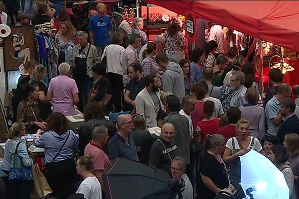 Grosse affluence pour le salon du vintage au Zénith de Limoges