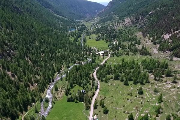 La Vallée de la Gordolasque dans les Alpes-Maritimes, qui sera couverte par la 4G début 2020.