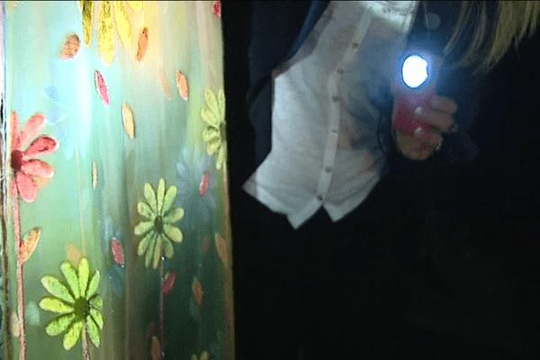 La découverte des Soieries Bonnet à la lampe torche.