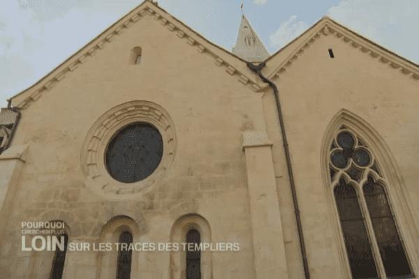 Chapelle de la commanderie de Bure-les-Templiers