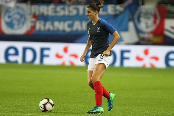 Charlotte Bilbault, joueuse du Paris FC, originaire du Cher, jouera les deux prochaines matches de préparation de l'équipe de France.