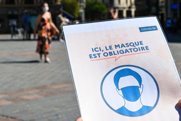 Vu de Belgique, la Mayenne est considérée comme un département à haut risque de contagion.