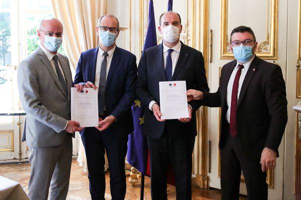 Le rapport Kerlogot-Euzet sur l'enseignement immersif a été remis au Premier ministre et au ministre de l'Education nationale