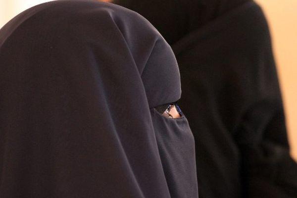 Illustration niqab