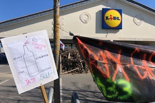 Les prix cassés ne permettent pas une juste rémunération des viticulteurs dénoncent les manifestants