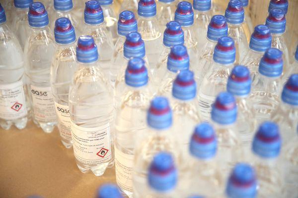Stock de gels hydro alcooliques