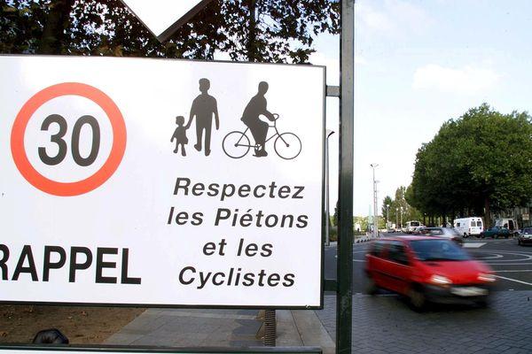Montpellier - 30km/h, la mesure devrait entrer en vigueur en juillet prochain. Illustration - 16.02.21