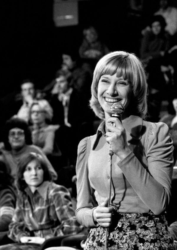 Danièle Gilbert ne pensait pas un seul instant faire carrière à la télévision.