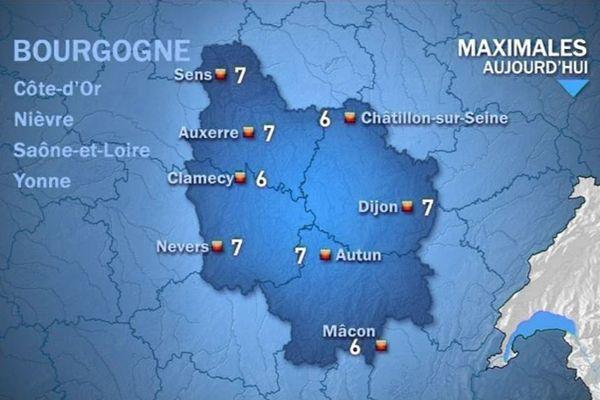 Les prévisions de Météo France jeudi 15 octobre